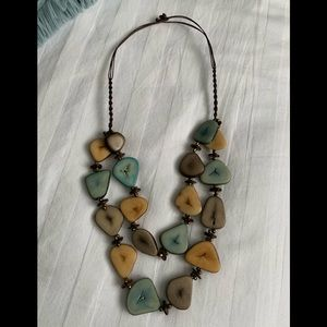 Beautiful Hand-made Wood necklace and bracelet